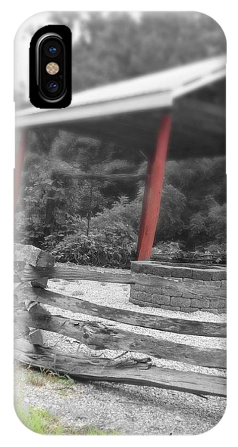 Wishing Well IPhone X Case featuring the photograph Wish You Well by Allicat Photography