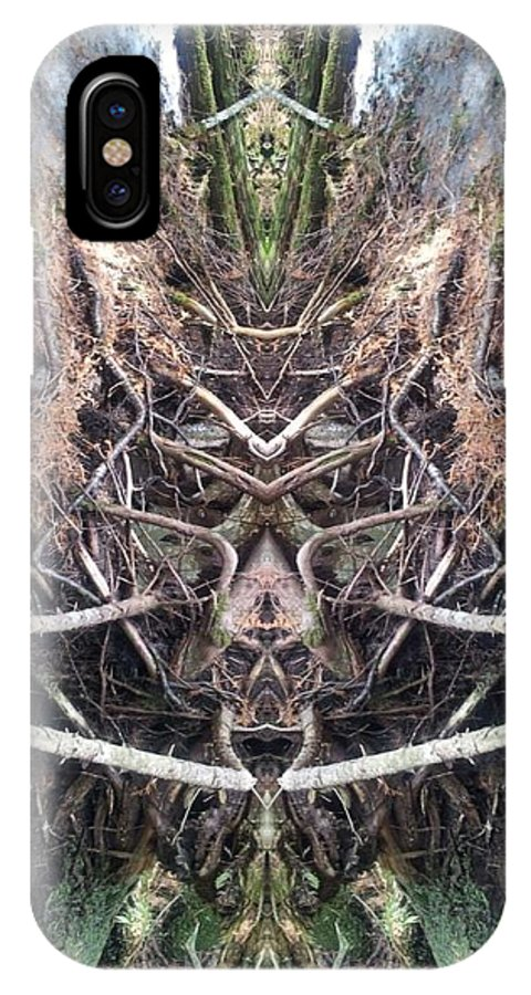 IPhone X / XS Case featuring the photograph Wolfhound by Jon Glynn