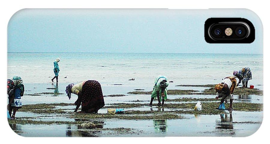 Zanzibar IPhone X Case featuring the photograph Women Of Zanzibar by Marc Levine