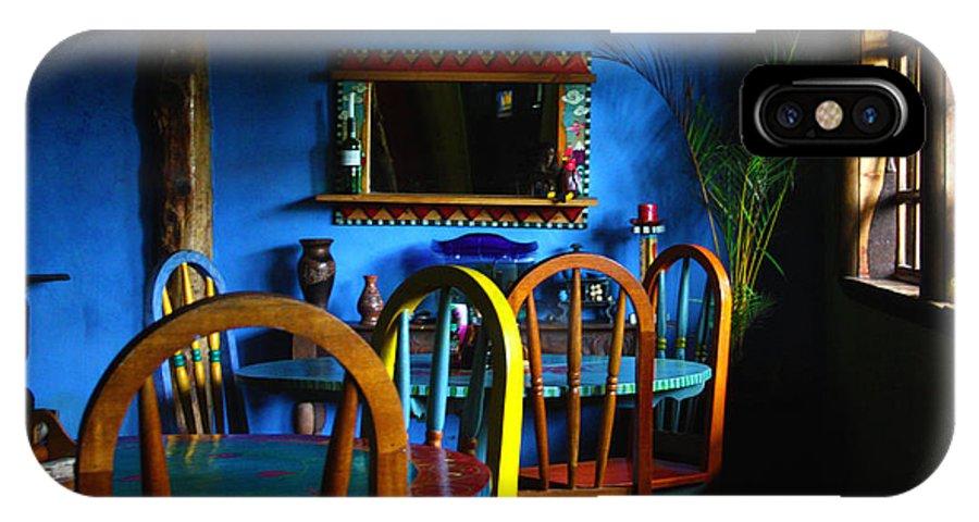 Chairs IPhone X Case featuring the photograph Yellow Chair by Kabir Ghafari