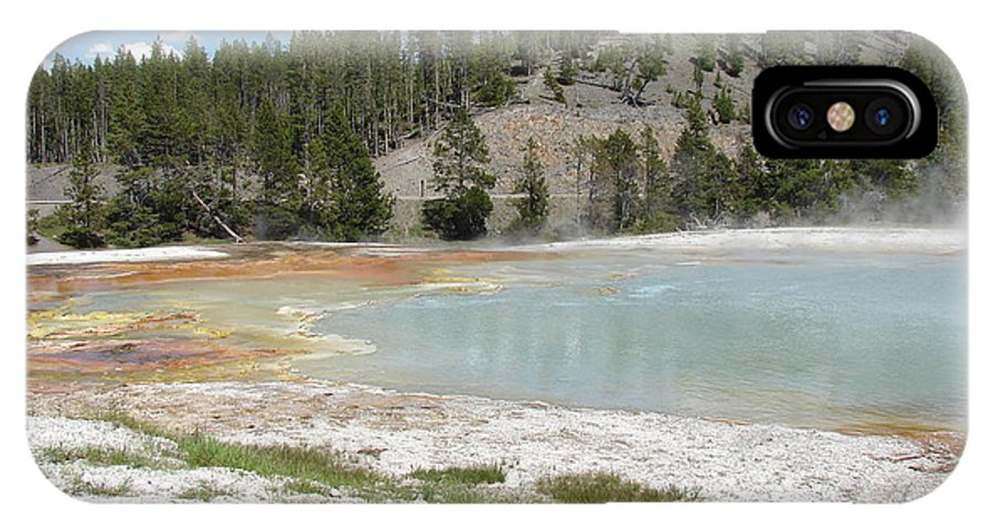 Yellowstone National Park IPhone X Case featuring the photograph Yellowstone 1 by Cindy Goshko