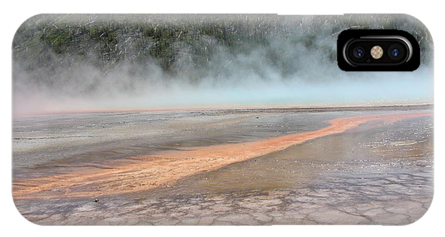 Yellowstone National Park IPhone X Case featuring the photograph Yellowstone 4 by Cindy Goshko