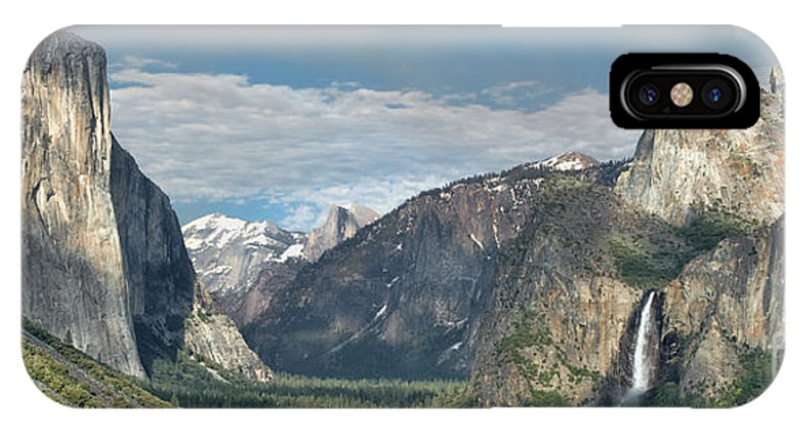 Yosemite IPhone X Case featuring the photograph Yosemite Valley Afternoon by Sandra Bronstein