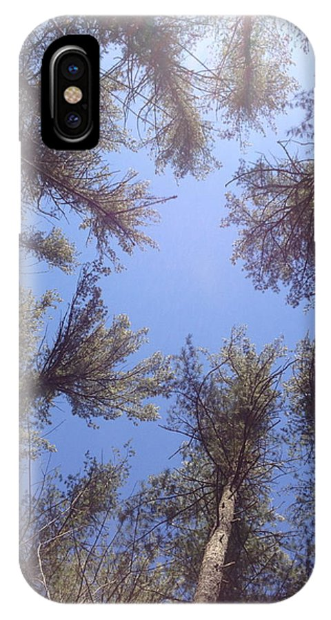 Nature IPhone X Case featuring the photograph You Just Tall by Hannah Rose