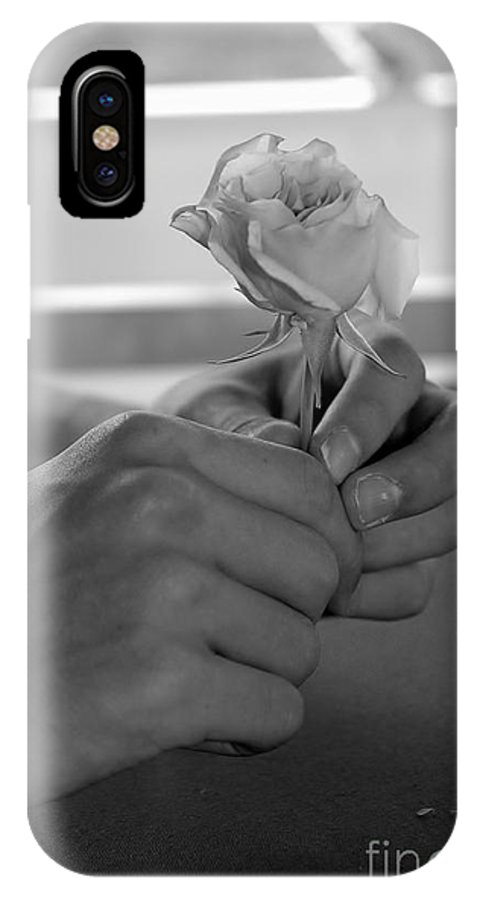 Love IPhone X Case featuring the photograph Young Love by Jennie Stewart
