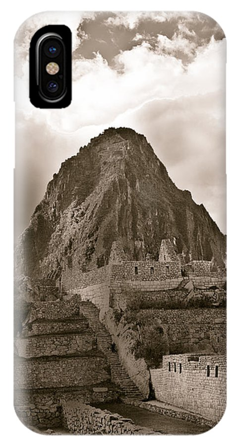 Landscape IPhone X Case featuring the photograph Young Mountain by Kelly Maize
