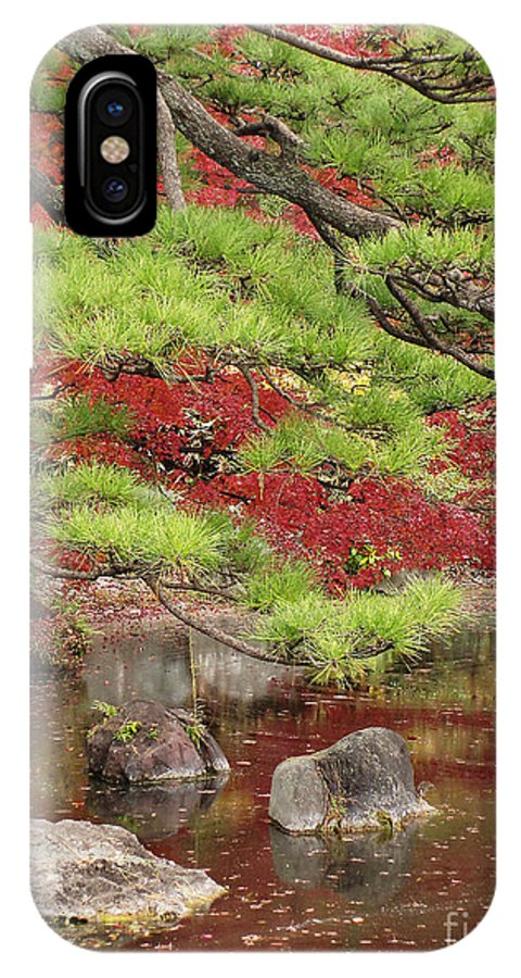 Zen IPhone X Case featuring the photograph Zen by Eena Bo