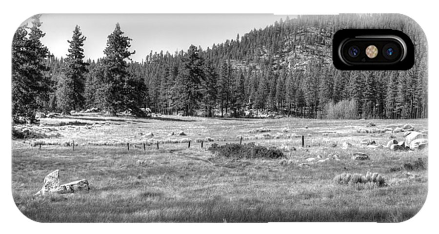 Landscape IPhone X Case featuring the photograph Prairie In South Lake Tahoe by Diego Re