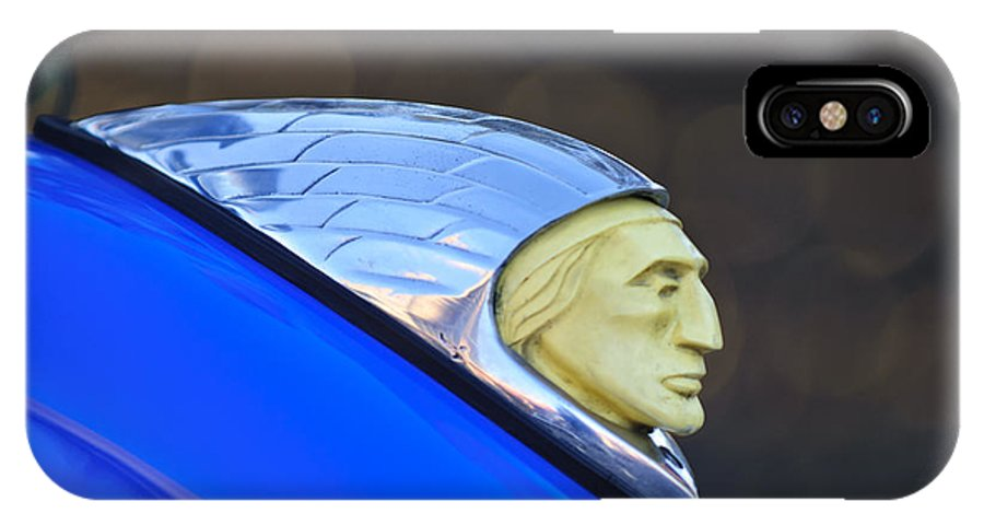 1948 Indian Chief Motorcycle IPhone X Case featuring the photograph 1948 Indian Chief Motorcycle by Jill Reger