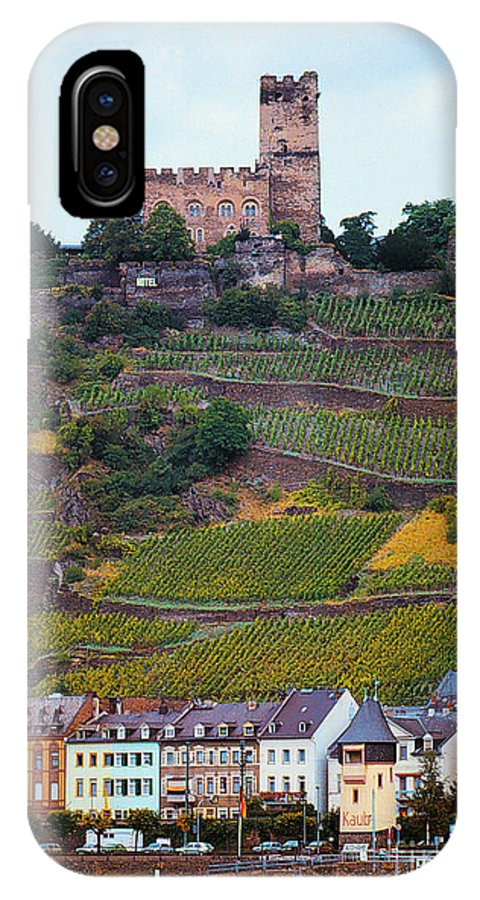 Rhine River IPhone X Case featuring the photograph Along The Rhine River by Mike Nellums