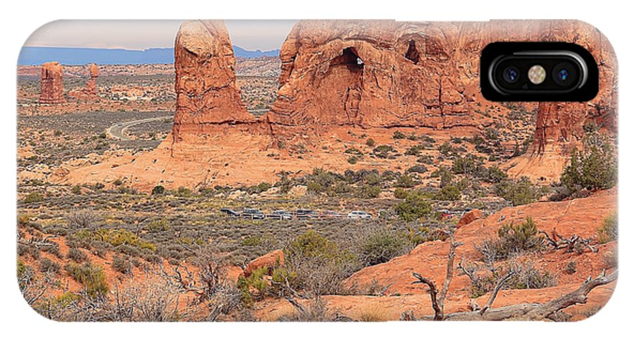 Arches National Park IPhone X Case featuring the photograph Arches National Park by Jack Schultz