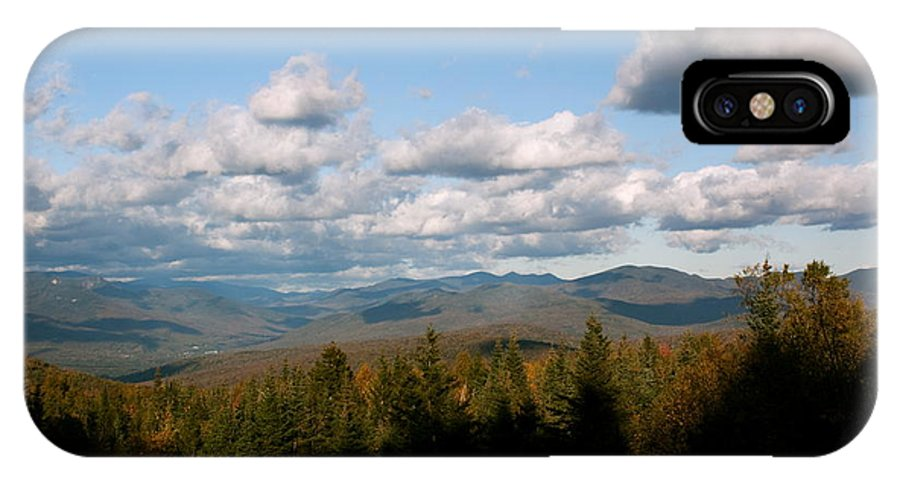 New Hampshire IPhone X / XS Case featuring the photograph Autumn In The Mountains by Amanda Kiplinger