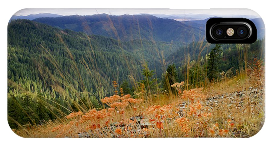 Idaho IPhone X Case featuring the photograph Autumn Whispers by Idaho Scenic Images Linda Lantzy