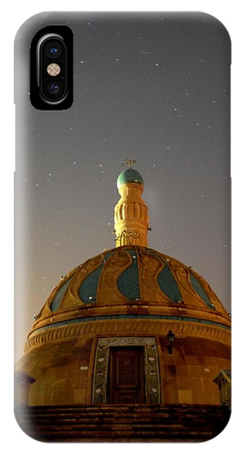 Baghdad IPhone X Case featuring the photograph Baghdad Mosque by Rick Frost