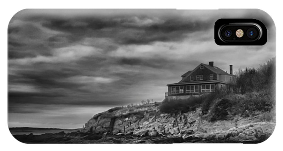 Baileys Island IPhone X Case featuring the photograph Bailey's Island 14342 by Guy Whiteley