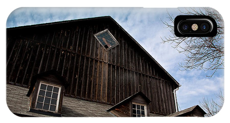 Barn IPhone X Case featuring the photograph Barn by Cale Best