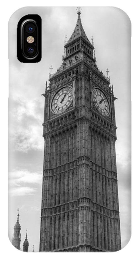 Big Ben IPhone X Case featuring the photograph Big Ben by Chris Day