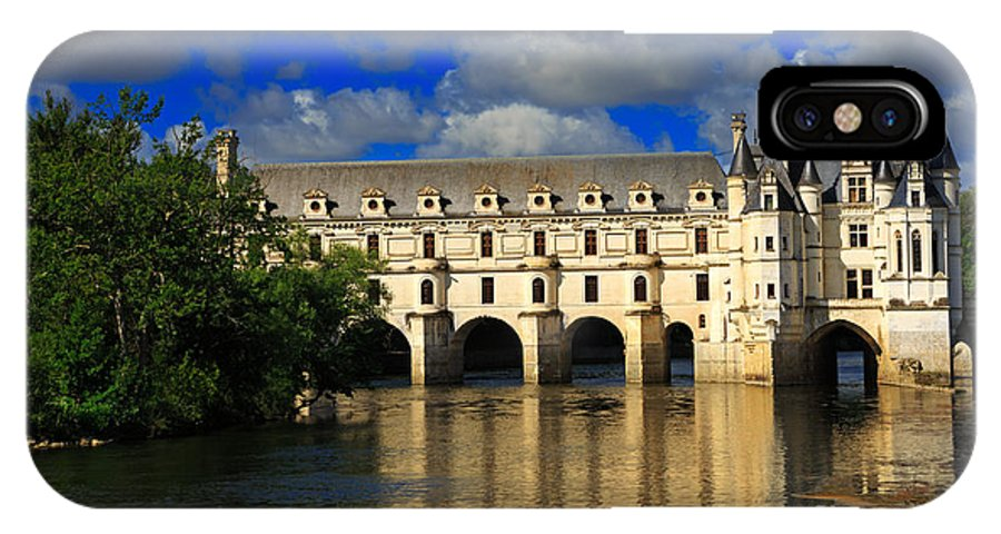 Chateau IPhone X Case featuring the photograph Chateau Chenonceau by Louise Heusinkveld
