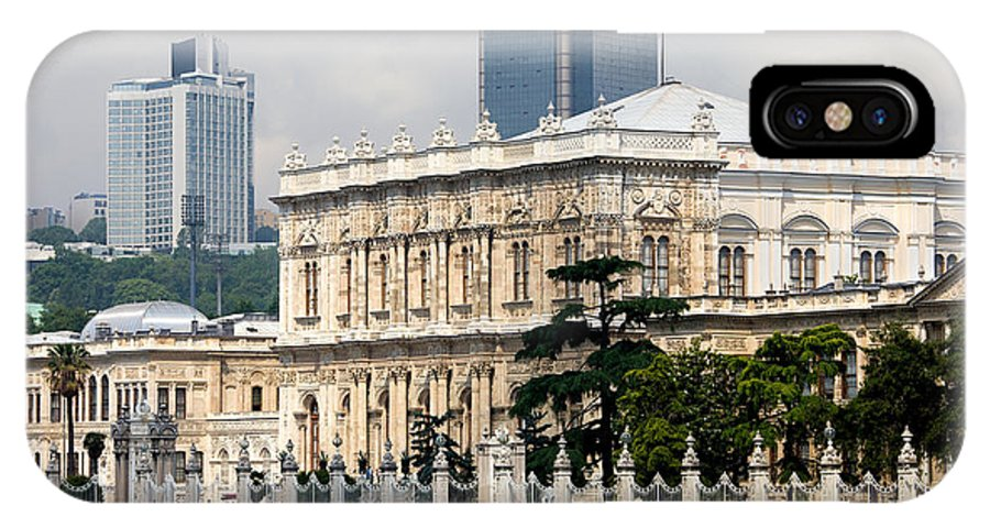 Architectural IPhone X Case featuring the photograph Dolmabahce Palace In Istanbul by Artur Bogacki