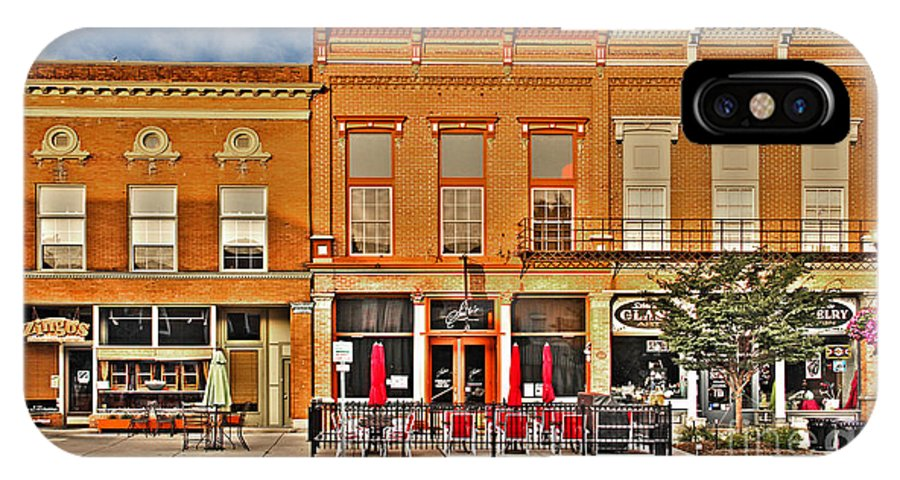 Perrysburg Ohio IPhone X Case featuring the photograph Downtown Perrysburg by Jack Schultz