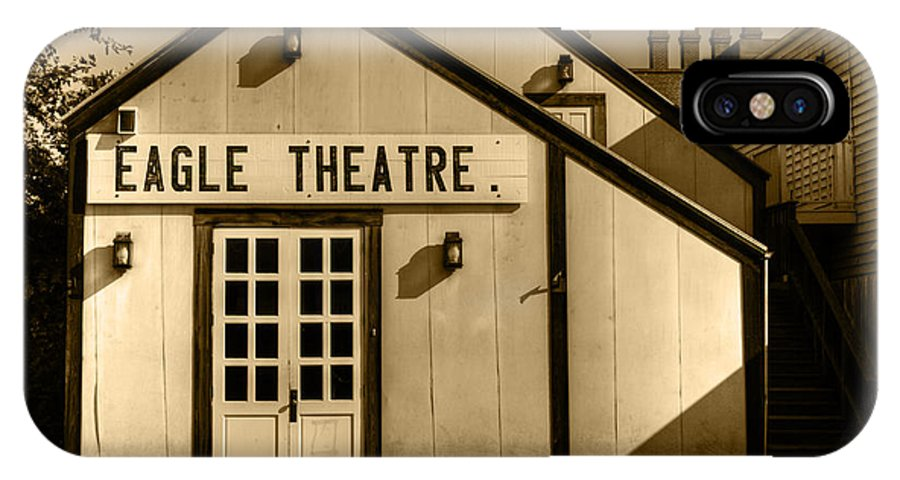 Eagle Theater IPhone X / XS Case featuring the photograph Eagle Theatre by Diego Re