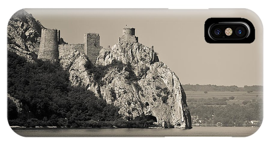 Golubac Fortress IPhone X Case featuring the photograph Golubac Fortress by Gabriela Insuratelu