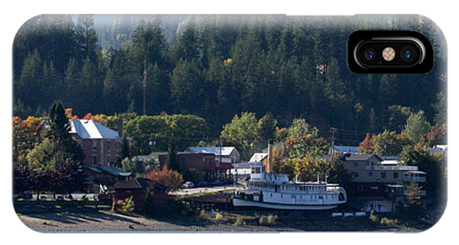 Kaslo IPhone X Case featuring the photograph Home Sweet Kaslo by Cathie Douglas