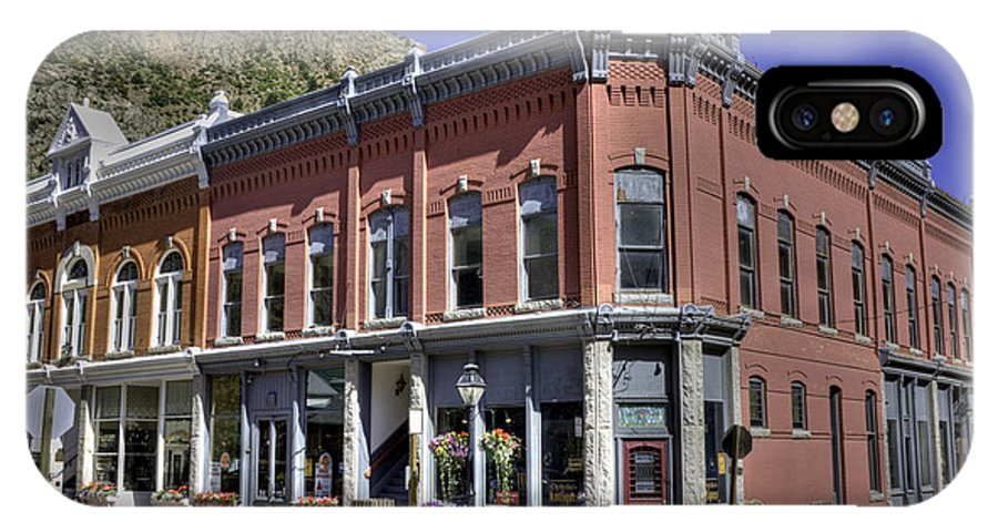 Hdr IPhone X Case featuring the photograph Idaho Springs Colorado by David Bearden