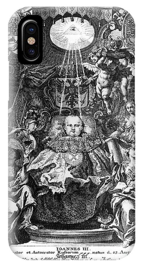 1740 IPhone X Case featuring the photograph Ivan Vi Antonovich by Granger