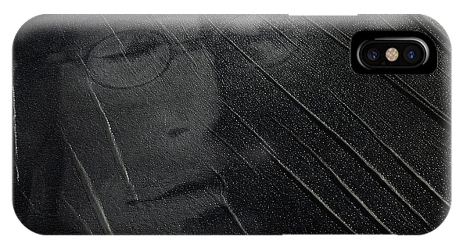 John Lennon IPhone X / XS Case featuring the photograph John Lennon by Bob Christopher