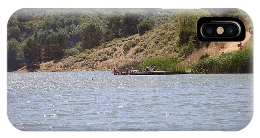 Lake Shabot IPhone X Case featuring the photograph Lake Shabot by Hiroko Sakai