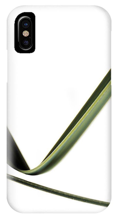 Plant IPhone X / XS Case featuring the photograph Leaves by Gavin Kingcome