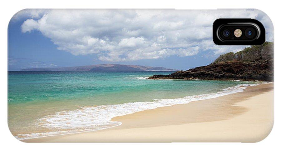 Beach IPhone X Case featuring the photograph Makena Beach by Jenna Szerlag