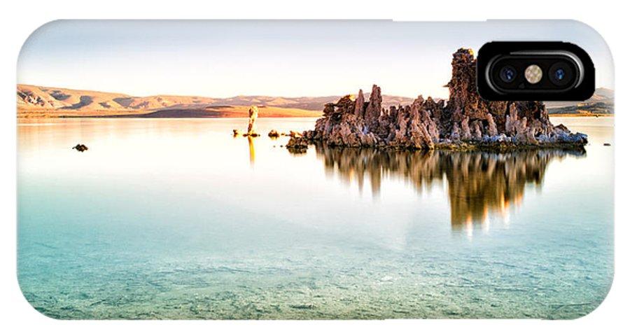 Mono Lake IPhone X Case featuring the photograph Mono Lake Sunrise by Tanya Harrison