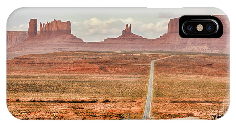 Monument Valley IPhone X Case featuring the photograph Monument Valley by Jack Schultz