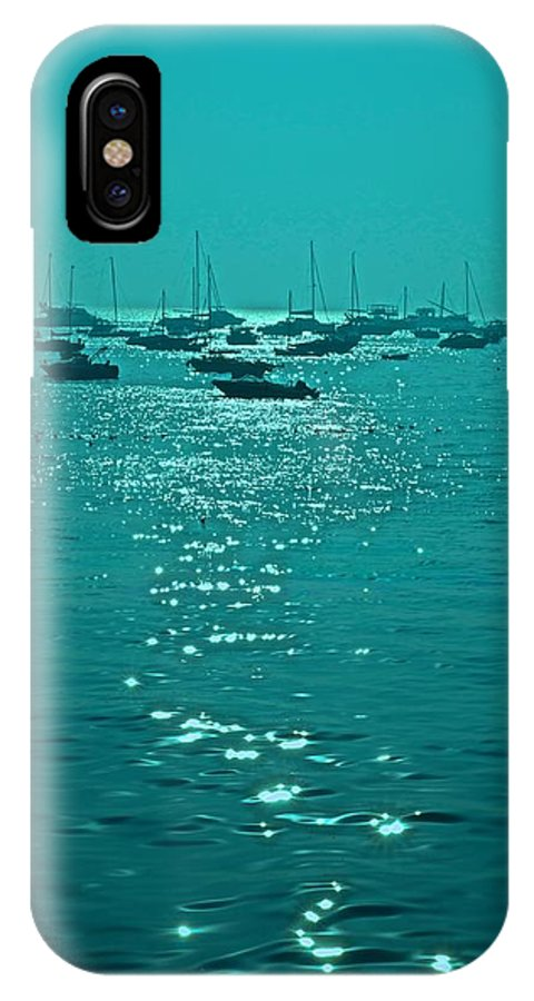 Mumbai IPhone X Case featuring the photograph Mumbai In The Morning In December by Valerie Rosen