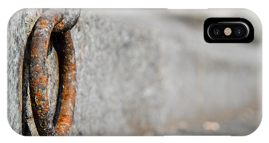 Rusty IPhone X Case featuring the photograph Rusty Ring by Mats Silvan