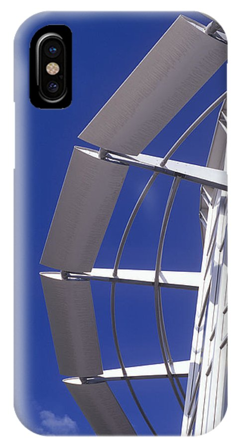 Bluewater Shopping Centre IPhone X / XS Case featuring the photograph Shopping Centre Architecture by Carlos Dominguez
