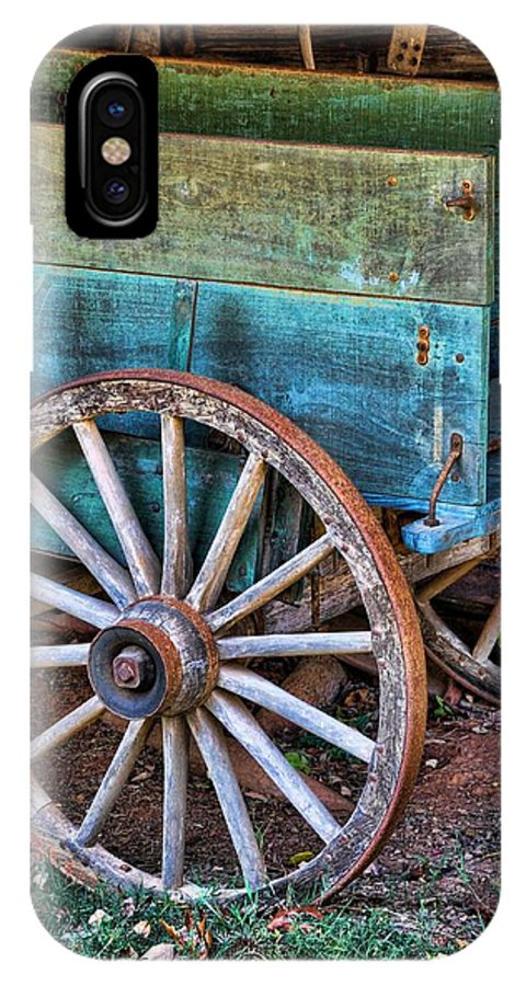 Still Life IPhone X Case featuring the photograph Standing The Test Of Time by Jan Amiss Photography