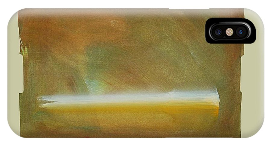 Tsunami IPhone X Case featuring the painting Turner Tide by Charles Stuart