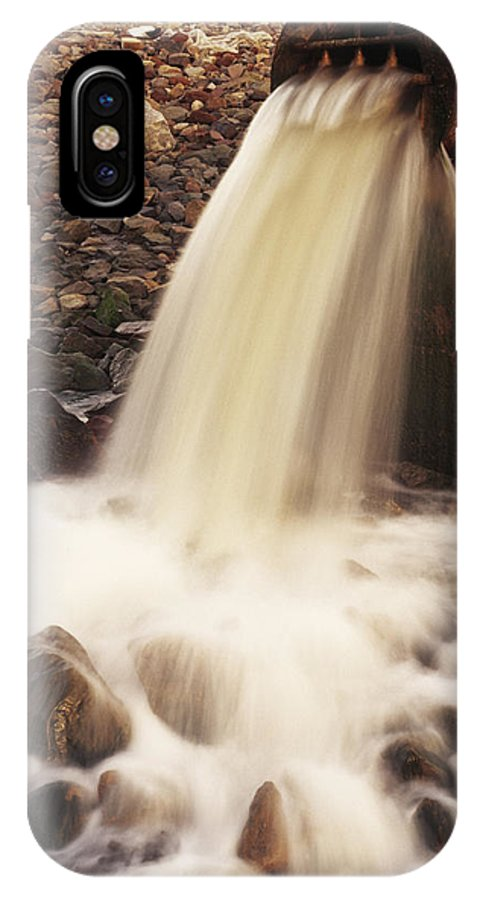 Environment IPhone X / XS Case featuring the photograph Water Pollution by Jeremy Walker