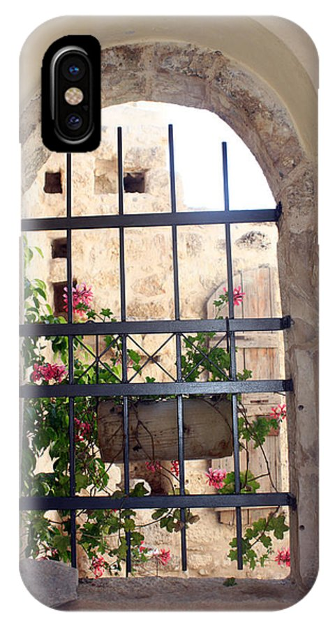 Window IPhone X Case featuring the photograph Window Of Hope by Munir Alawi