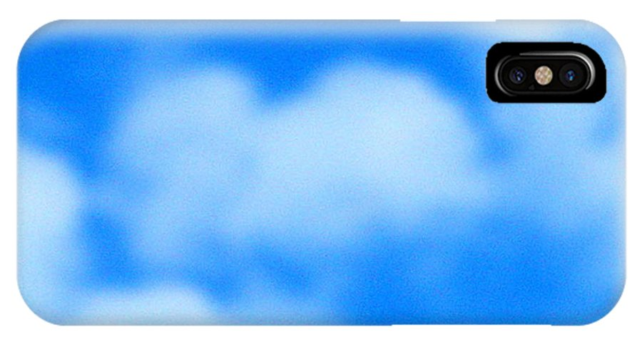 Cloud IPhone X Case featuring the photograph With Love by April Patterson