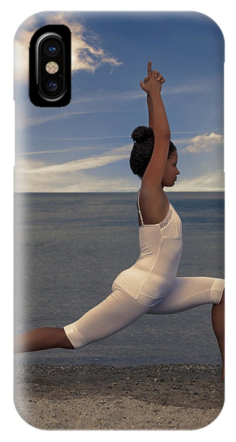 Female IPhone X Case featuring the photograph Yoga by Joana Kruse