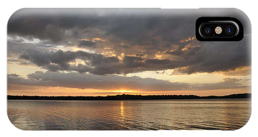 Everglades Np IPhone X Case featuring the photograph 10000 Islands Sunset by Rich Bodane