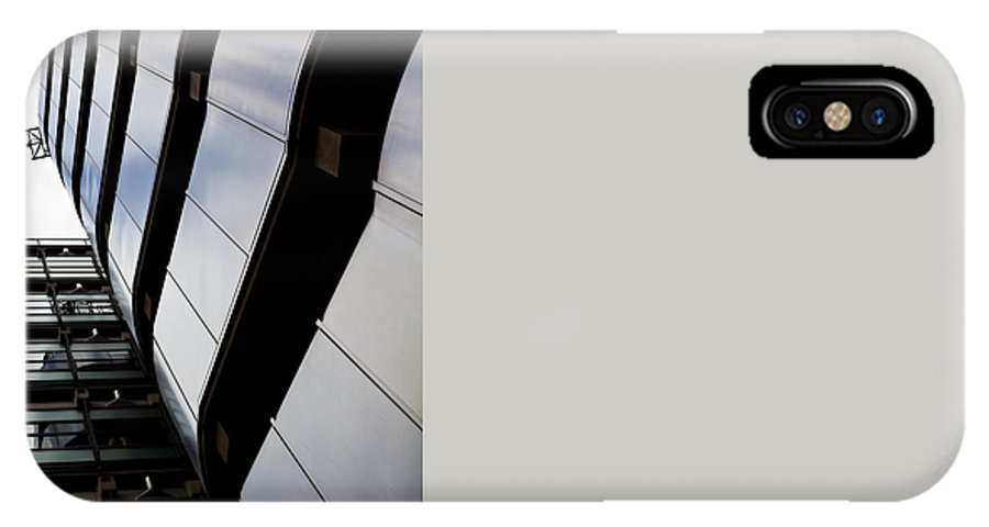 Lloyds IPhone X Case featuring the photograph Lloyds Building London by David Pyatt