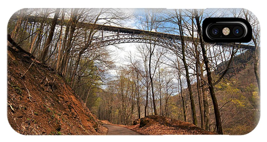 New River Gorge Bridge IPhone X Case featuring the photograph New River Gorge Bridge by Mary Almond
