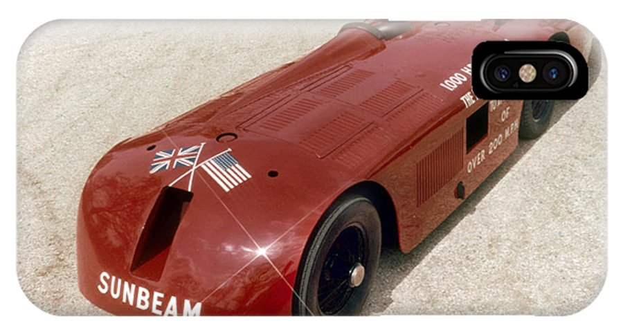 1927 IPhone X Case featuring the photograph 1927 Sunbeam by Granger