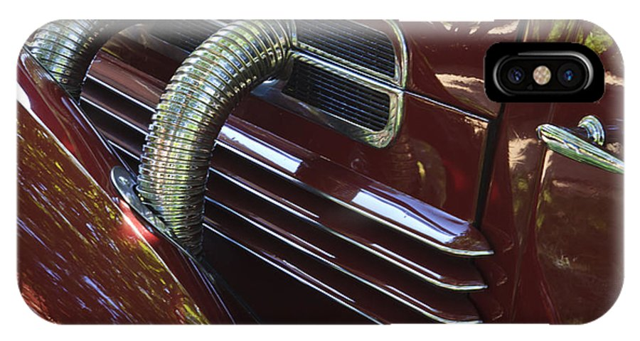 Classic IPhone X Case featuring the photograph 1936 Cord by Dennis Hedberg