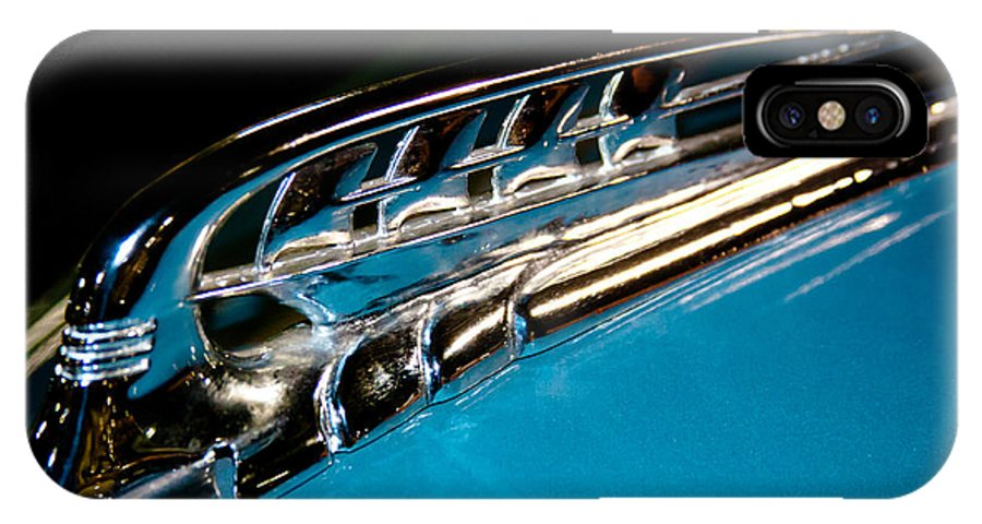 39 IPhone X Case featuring the photograph 1939 Plymouth Deluxe P8 by David Patterson